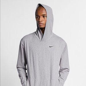 brand new grey nike hoodie fleece